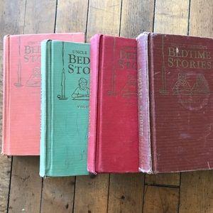 Uncle Arthur's bedtime stories 4 books yr. 1941